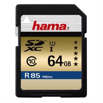 Hama SDXC 64GB UHS-I 85 MB/s Class 10