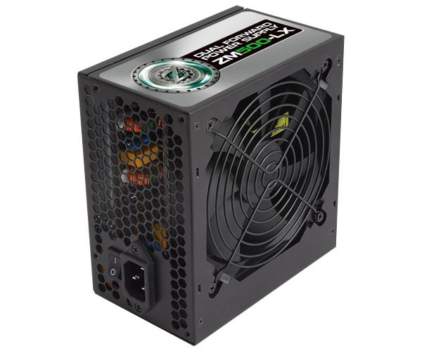 Zalman zdroj ZM500-LX 500W 80+ ATX12V 2.3 PFC 12cm fan