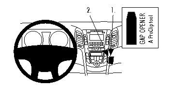 Brodit ProClip montážní konzole pro Hyundai i30 12-16