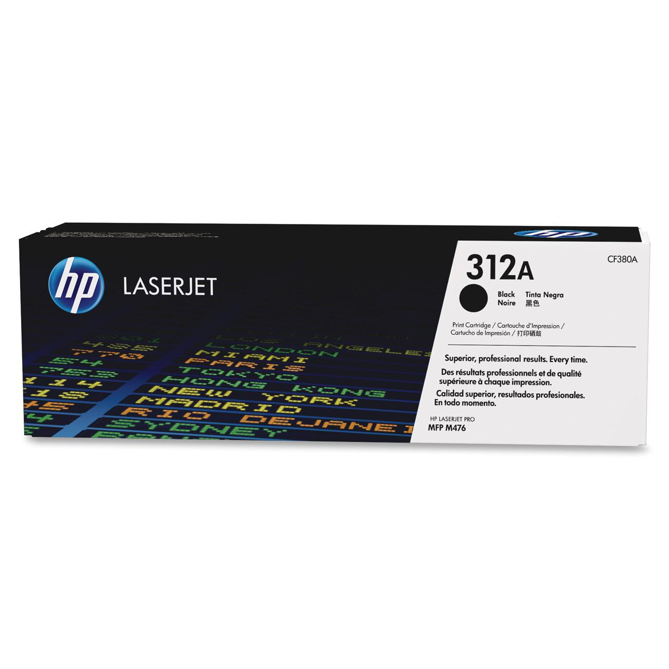 HP Toner 312A black