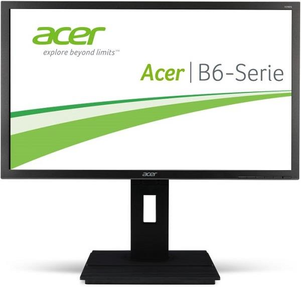 "ACER LCD B246HYLAymdpr, 60cm (23,8"") IPS LED, 1920 x 1080, 100M:1, 250cd/m2, 178°/ 178°, 6ms, DVI, Displej port, speaker"