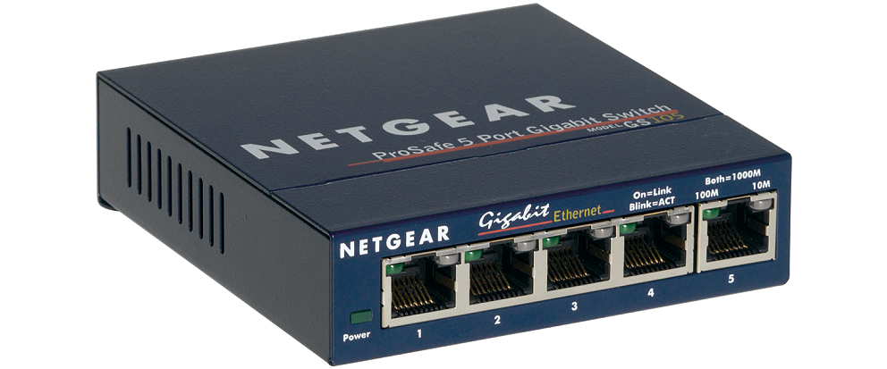 Netgear 5x 10/100/1000 Ethernet Switch
