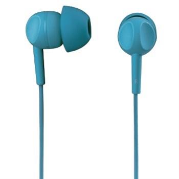 Sluchátka s mikrofonem Thomson EAR3203, silikonové špunty, tyrkysová, #132483