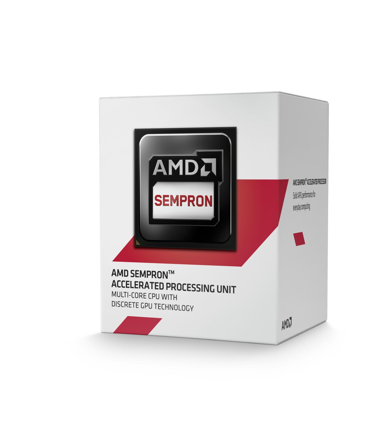 CPU AMD Sempron X4 3850 Kabini 4c B (1,30GHz,2MB)