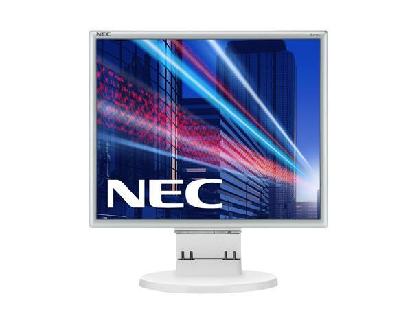 NEC LCD MultiSync E171M 17'' 5ms, DVI, reproduktory, bílý