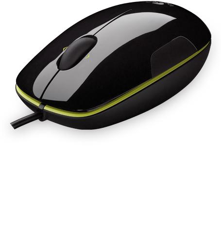 Logitech myš M150 Laser Mouse, Grape acid, USB, laserová