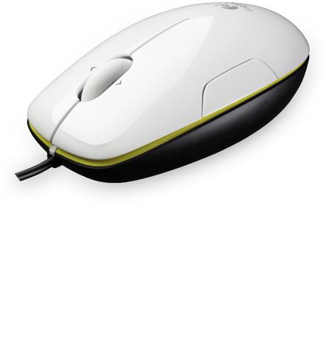 Logitech Počítačová myš laserová M150, Coconut