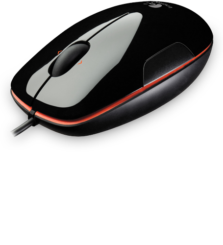 myš Logitech M150 Laser mouse, Grape Jaffa - Black
