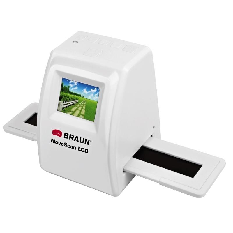 BRAUN foto skener NovoScan LCD (5Mpx / 1800dpi)