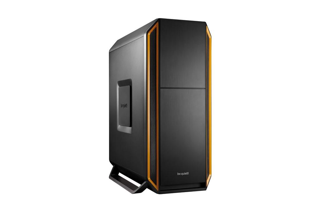be quiet! PC skříň Silent Base 800, oranžová, ATX, micro-ATX, mini-ITX case
