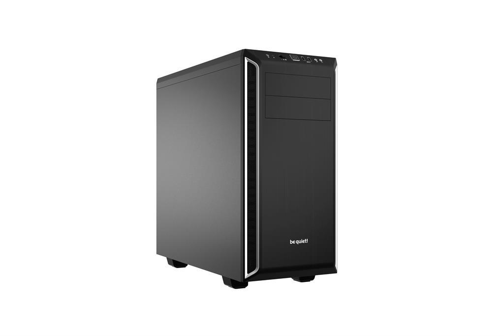 be quiet! Pure Base 600, silver, ATX, M-ATX, mini-ITX case