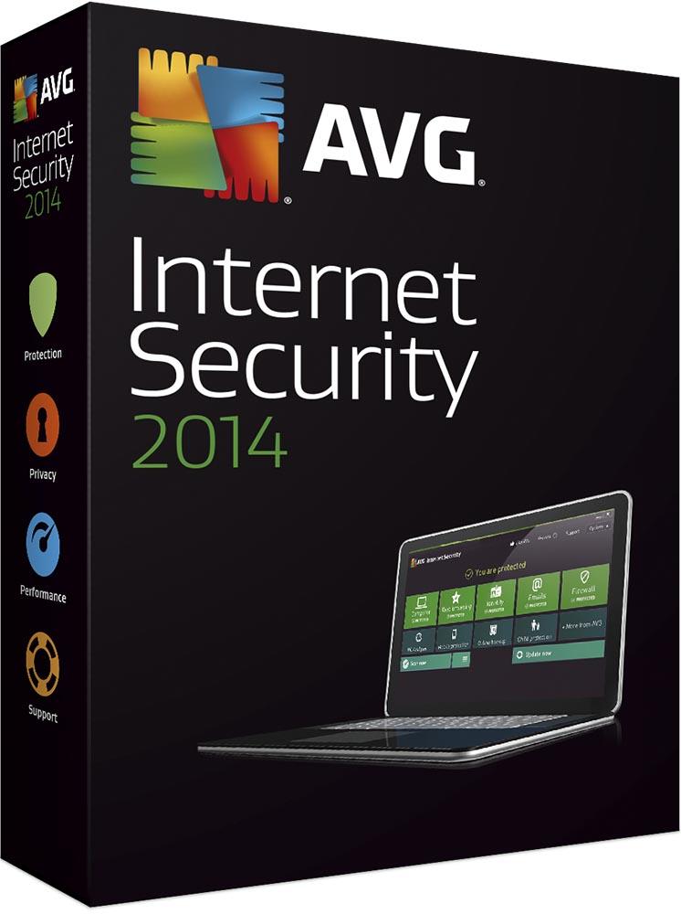 AVG Internet Security 2016, 1 lic. (24 měs.) - krabicová licence
