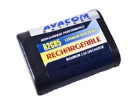 AVACOM nabíjecí fotobaterie Canon 2CR5, Kodak KL2CR5, Pentax 2CR5 Li-Fe 6V 500mAh 3Wh