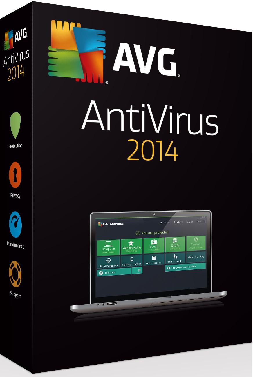 Prodl. AVG Anti-Virus 2016, 1 lic. (24 měs.) - krabicová licence