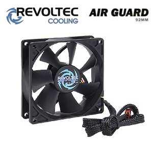 Revoltec ventilátor ''AirGuard'', 92x92x25mm