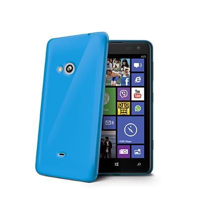 Celly GELSKIN kryt pro Nokia Lumia 625, silikonový, modrý