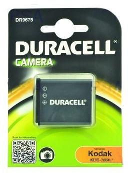 DURACELL Baterie - DR9675 pro Kodak NP-50, černá, 770 mAh, 3.7V