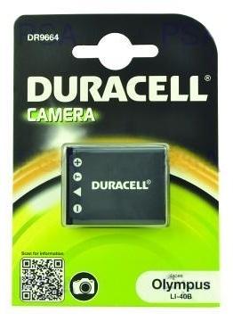 DURACELL Baterie - DR9664 pro Olympus, Nikon NP-45, černá, 630 mAh, 3.7V