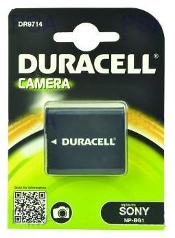 DURACELL Baterie - DR9714 pro Sony NP-BG1, černá, 960 mAh, 3.7V