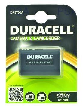 DURACELL Baterie - DR9700A pro Sony NP-FH30, černá, 650 mAh, 7.4V