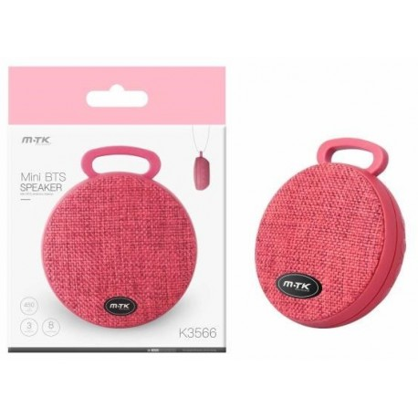 Bluetooth Mini Speaker PLUS K3566 red