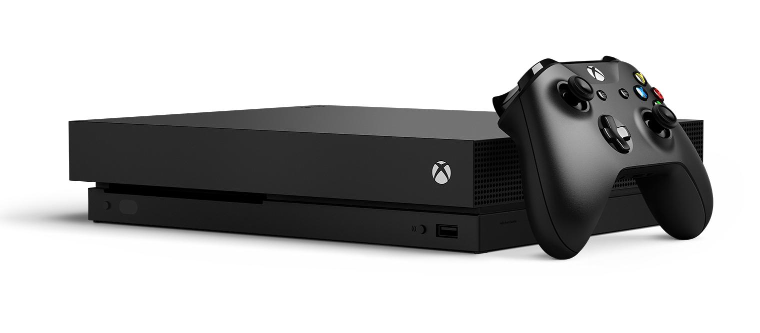 AKCE: XBOX ONE X 1 TB - druhý ovladač (černý) ZDARMA