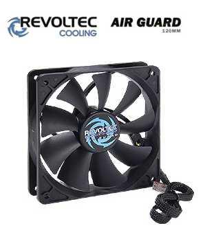 Revoltec ventilátor ''AirGuard'', 120x120x25mm