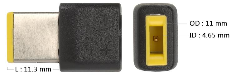 Vyměnitelná koncovka pro 65 W adaptéry FSP/Fortron - LENOVO (bulk) - č. U8