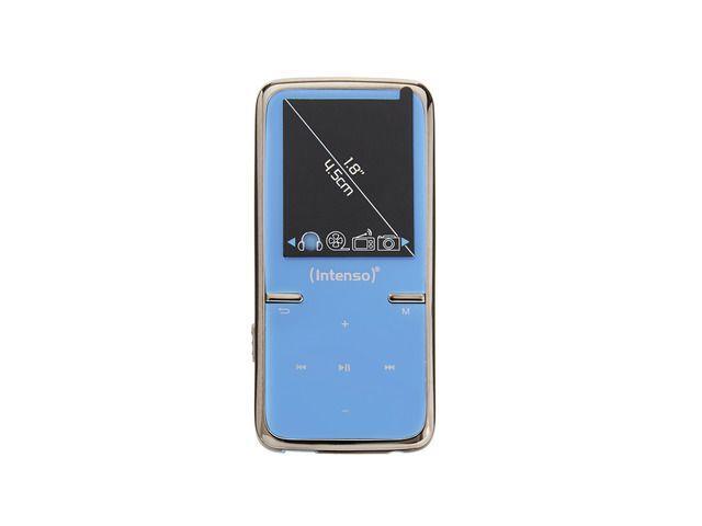 Intenso MP3 přehrávač 8GB Video Scooter LCD 1,8'' modrý
