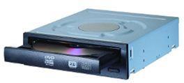 Lite-On Super AllWrite SATA 22x DVD+/-R, 8x/6x DVD+/-RW, 8x DL, bulk, černá