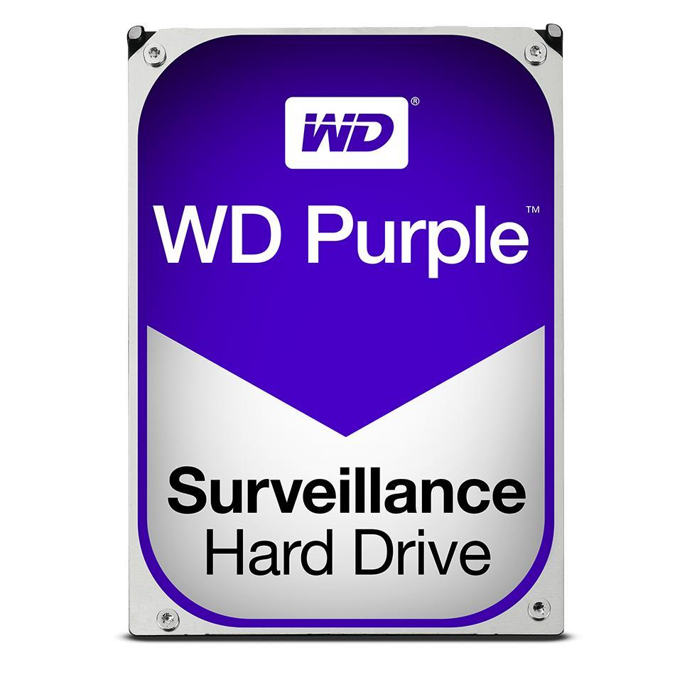 WD Purple WD05PURZ 3.5'' HDD 500GB, SATA/600, 64MB cache, pro video surveillance