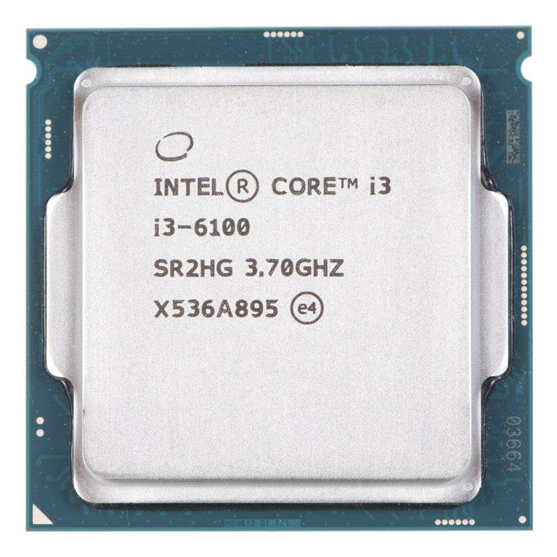 Intel Core i3-6100, Dual Core, 3.70GHz, 3MB, LGA1151, 14nm, 51W, VGA, TRAY