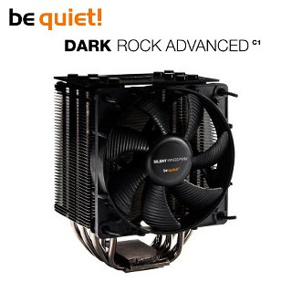 CPU chladič be quiet! Dark Rock Advanced, AM3,AM2+,AM2,940,939,775,774,1366,1155