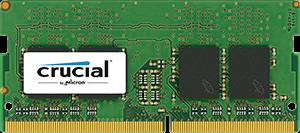 Crucial 8Gb, 2400MHz DDR4, CL17, DRx8, SODIMM, 260pin