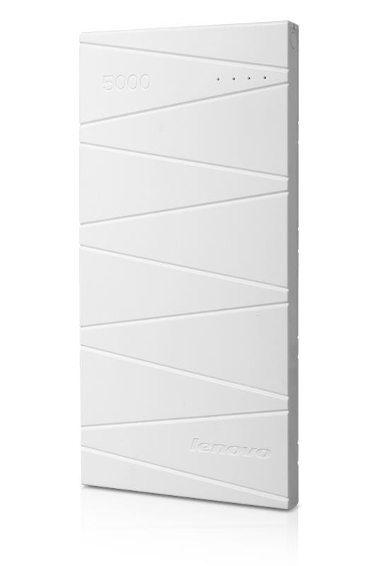 Lenovo Idea Power Bank PB500 White - 10 000mAh, 1x USB 5V/2A + 1x USB 5V/1A