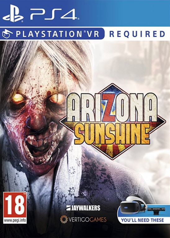 SONY PS4 hra Arizona Sunshine VR