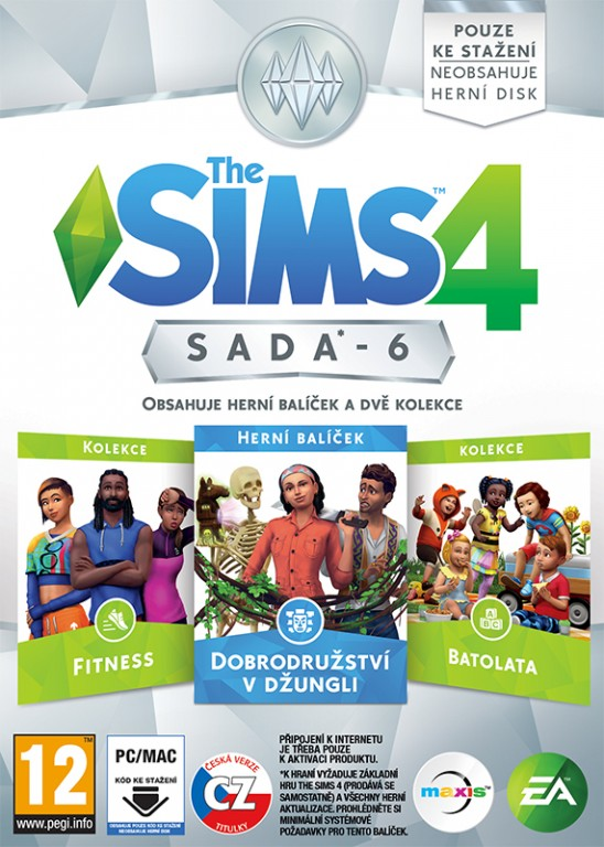 PC - THE SIMS 4 BUNDLE PACK 6