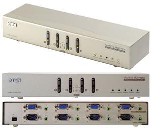 ATEN VS-0404 4-portový VGA Matrix přepínač