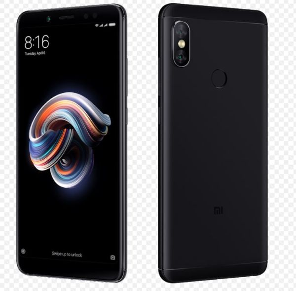 Xiaomi Redmi Note 5 Global Black/5,99´´ 2160x1080 FullHD/1,8GHz OC/3GB/32GB/SD/2xSIM/FP/12MPx/4000mAh