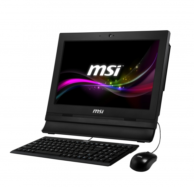 "MSI Pro 16T 7M-030XEU /Celeron 3865U kabylake/4GB/Black/15,6""HD ST/HD Graphics 610/128GB SSD/Hdd Caddy/GbLan/noOS"