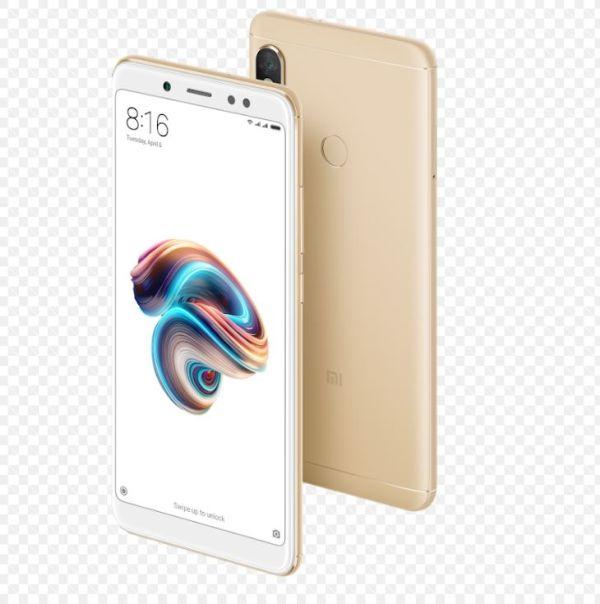Xiaomi Redmi Note 5 Global Gold/5,99´´ 2160x1080 FullHD/1,8GHz OC/3GB/32GB/SD/2xSIM/FP/12MPx/4000mAh