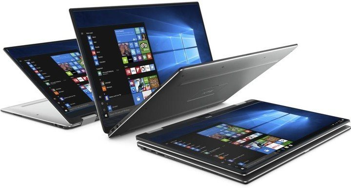 "DELL Ultrabook XPS 13 (9365)/i5-7Y57/8GB/512GB SSD/Intel HD 615/13.3"" QHD+ Touch/FPR/Win 10 MUI/black"