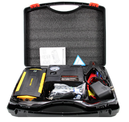 VIKING Car Jump Starter ZULU III 20800mAh, Notebook powerbank, Žlutá