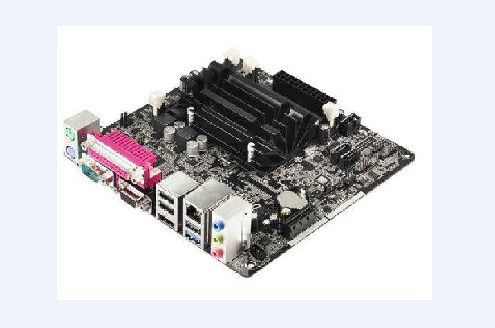 ASRock D1800B-ITX, J1800, 2x DDR3, VGA+DVI +HDMI, SATA2, 5.1, GLAN, mini ITX