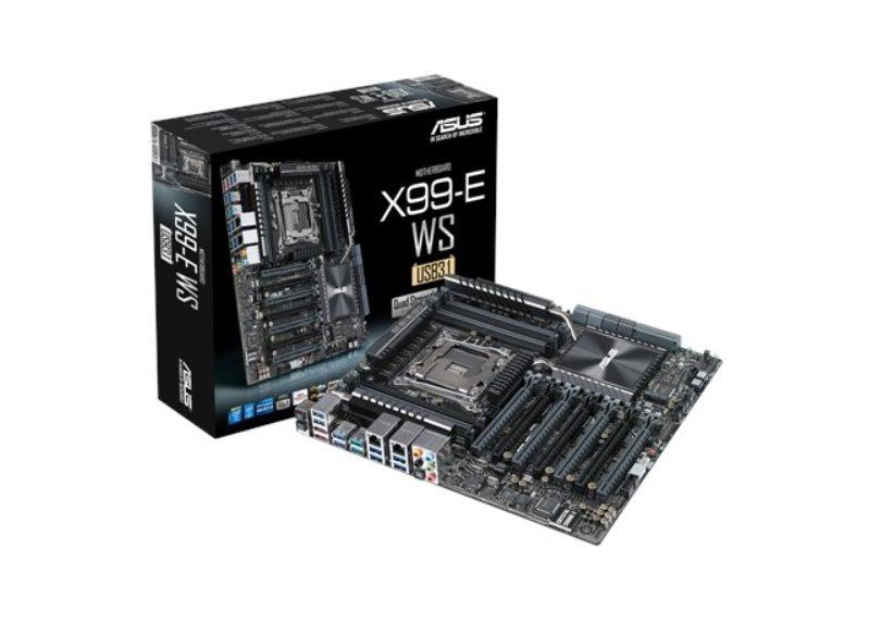 ASUS X99-E WS/USB 3.1, 2011, X99, 8x DDR4, 7 x PCIe 3.0/2.0 x16, 1 x M.2 x4 Socket 3, CEB