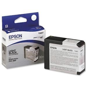 Epson T580 Light Black (80 ml)