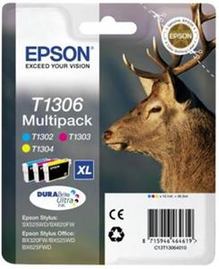 Multipack CMY Ink Cartridge (T1306)