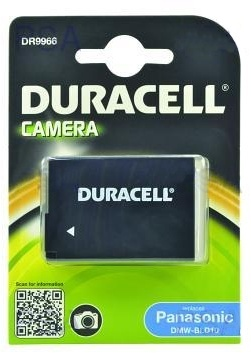 DURACELL Battery - DR9966 for Panasonic Lumix DMC-G3, DMC-GF2, DMC-GX1