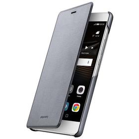 Nuvo Huawei flip cover pouzdro pro P9 Lite, tmavě šedé
