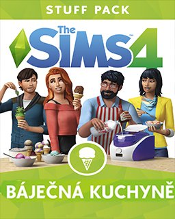 ESD The Sims 4 Báječná kuchyně